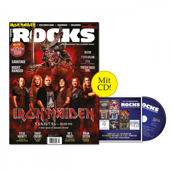 ROCKS Magazin 84 (05/2021) mit Iron Maiden!