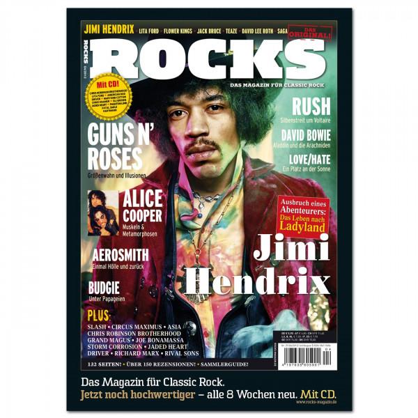 Jimi Hendrix-Poster in glänzender Bilderdruckqualität