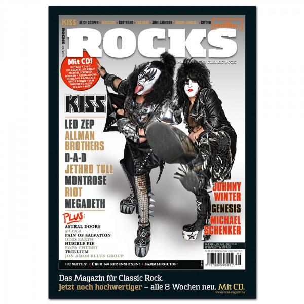 Kiss-Poster in glänzender Bilderdruckqualität