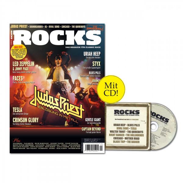 ROCKS Magazin 41 (04/2014) mit CD und Judas Priest!