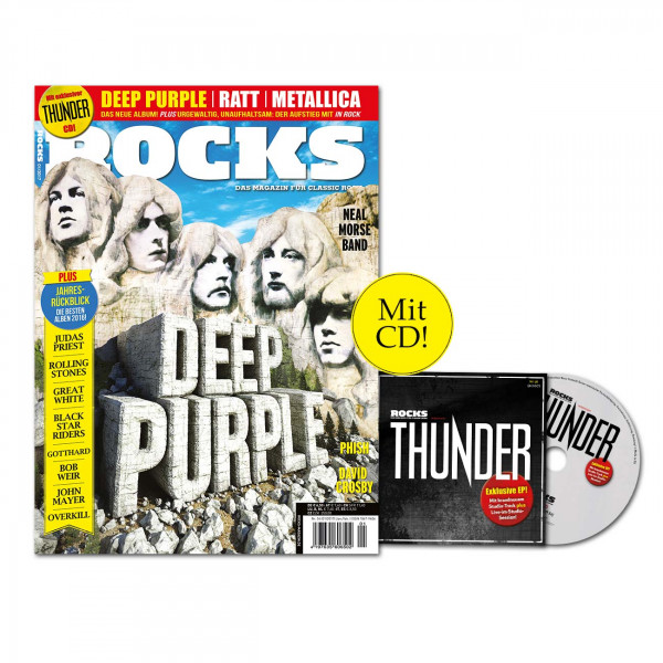 ROCKS Magazin 56 (01/2017) mit Thunder-CD