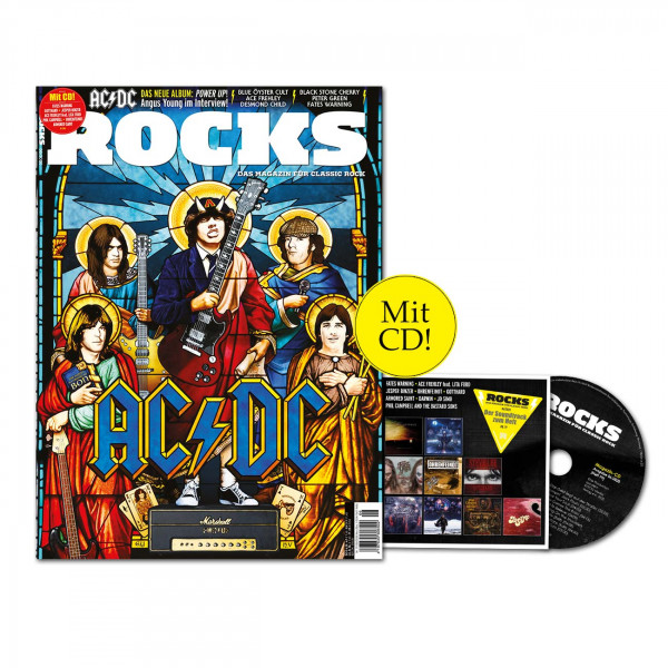 ROCKS Magazin 79 (06/2020) mit CD mit AC/DC
