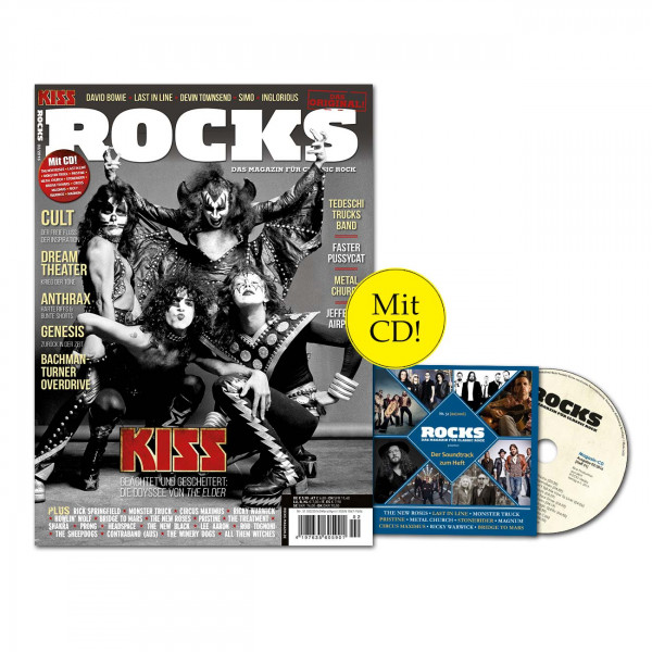ROCKS Magazin 51 (02/2016) mit CD