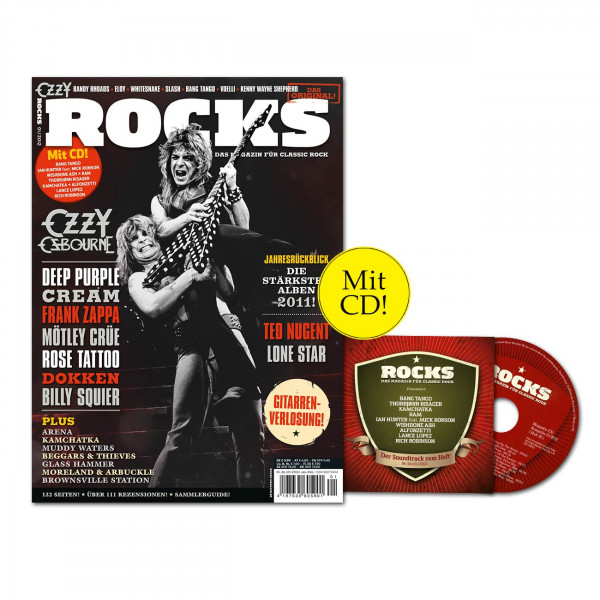 ROCKS Magazin 26 (01/2012) mit C und Ozzy Osbourne!