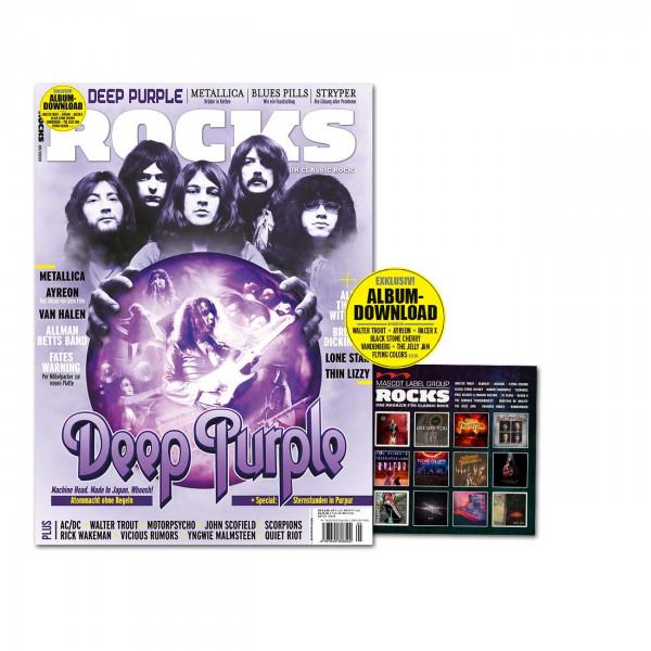ROCKS Magazin 78 (05/2020) mit downloadbarer CD, mit Deep Purple, Metallica, Ayreon, Van Halen, Fates Warning,Thin Lizzy, u.v.m