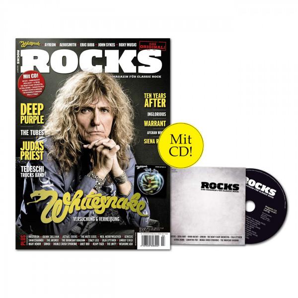 ROCKS Magazin 58 (03/2017) mit CD