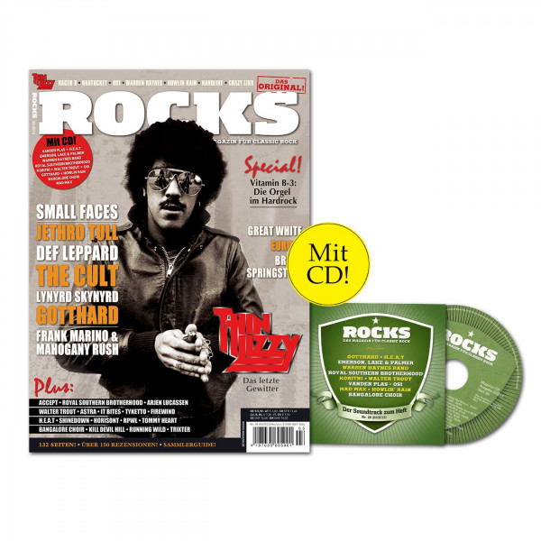 ROCKS Magazin 28 (03/2012) mit CD