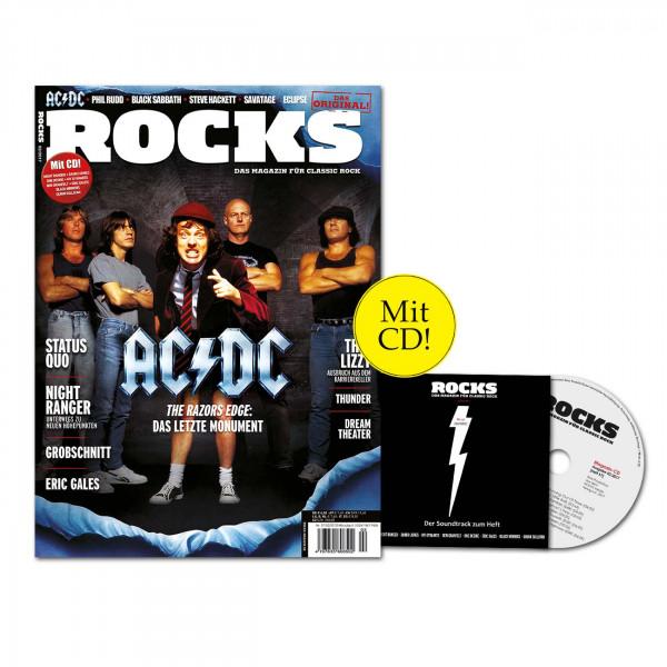 ROCKS Magazin 57 (02/2017) mit CD