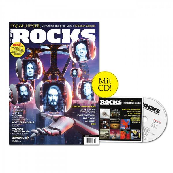 ROCKS Magazin 69 (02/2019) mit CD und Dream Theater