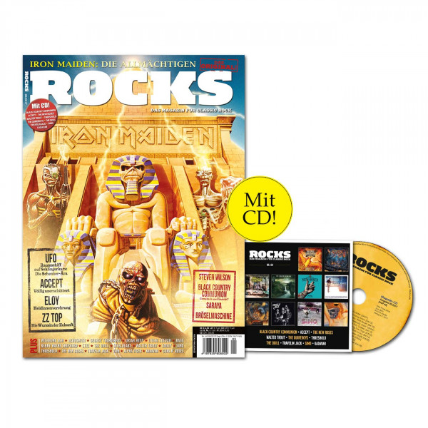 ROCKS Magazin 60 (05/2017) mit CD