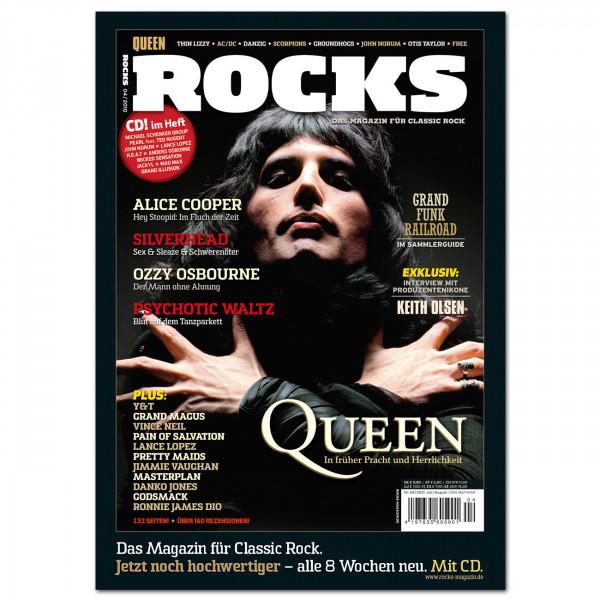 Queen-Poster in glänzender Bilderdruckqualität