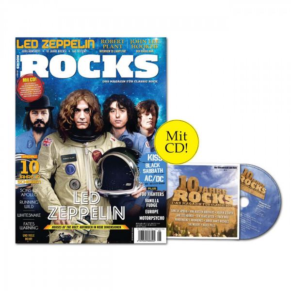 ROCKS Magazin 61 (06/2017) mit CD und Led Zeppelin