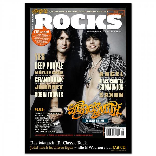 Aerosmith-Poster in glänzender Bilderdruckqualität