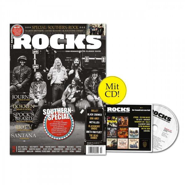 ROCKS Magazin 64 (03/2018) mit CD und Southern-Rock-Special