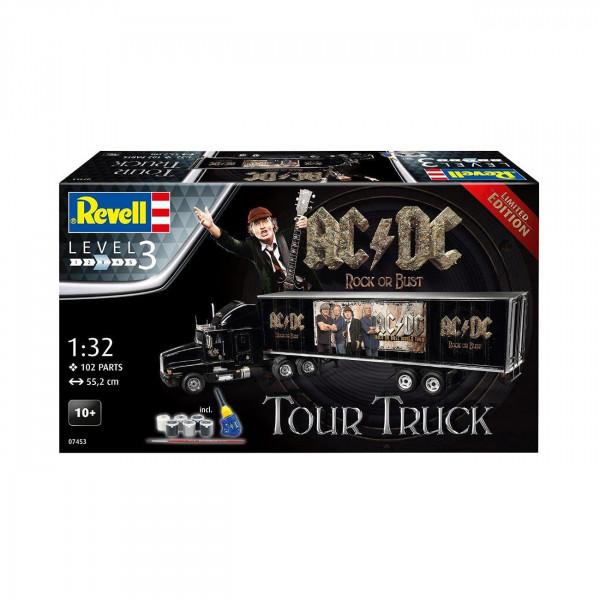 Tour-Truck von AC/DC als Modellbausatz von Revell!