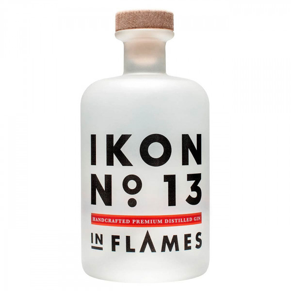 "Der leckere In Flames Gin ""Ikon No.13"" 43% vol, 0,5l"