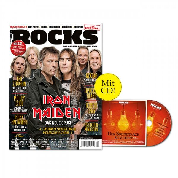ROCKS Magazin 48 (05/2015) mit CD und Iron Maiden-Special!