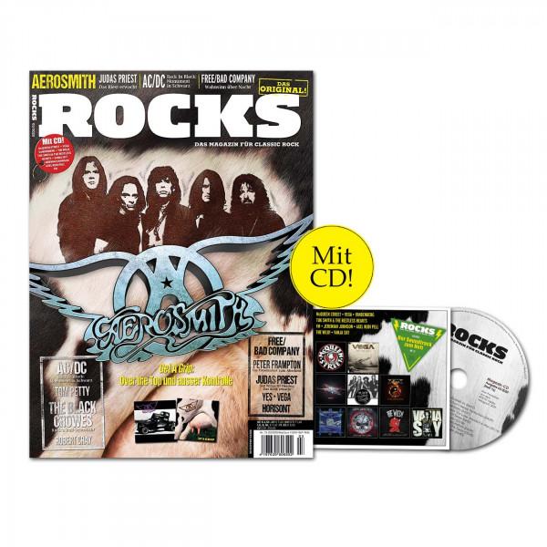 ROCKS Magazin 76 (03/2020) mit CD und Aerosmith
