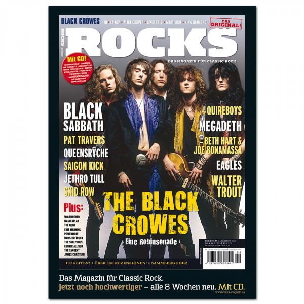Black Crowes-Poster in glänzender Bilderdruckqualität