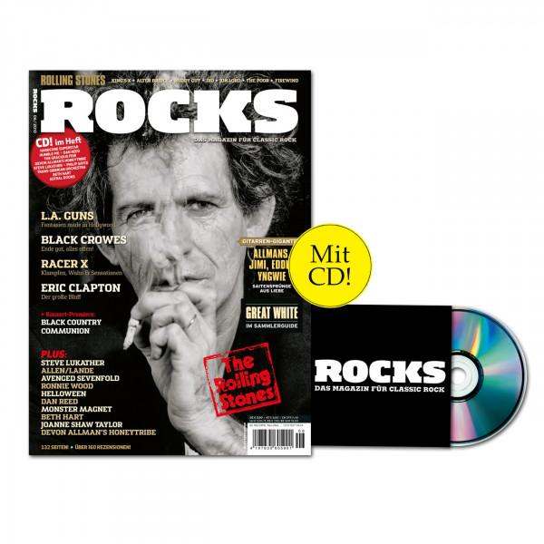 ROCKS Magazin 19 (06/2010) mit CD: The Rolling Stones!