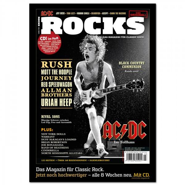 AC/DC-Poster in glänzender Bilderdruckqualität