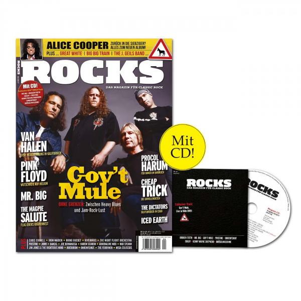 ROCKS Magazin 59 (04/2017) mit CD und Gov't Mule