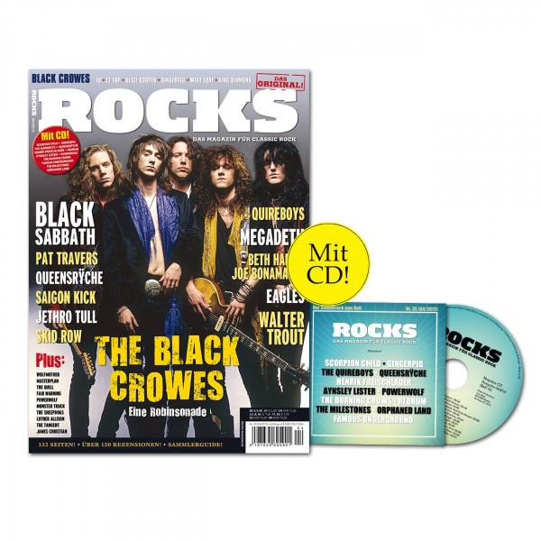 ROCKS Magazin 35 (04/2013) mit CD und den Black Crowes!