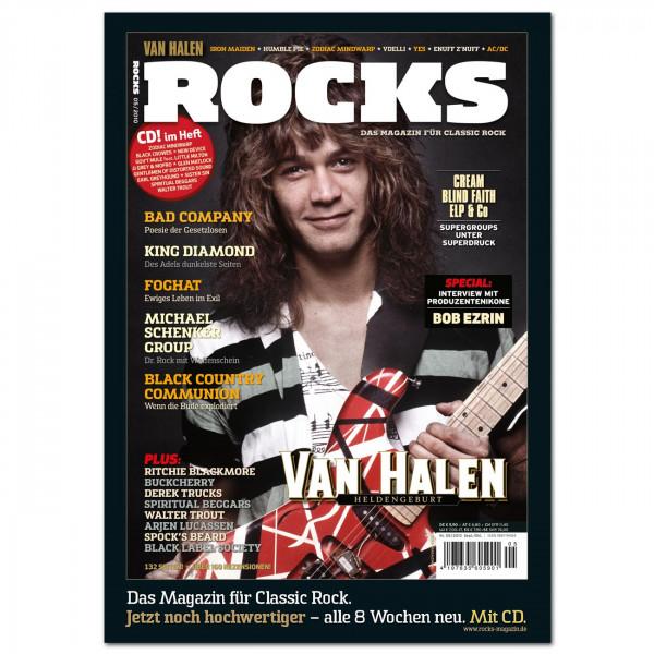 Van Halen-Poster in glänzender Bilderdruckqualität