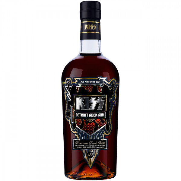 Der leckere KISS Detroit Rock Rum mit 45% vol.