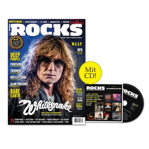 ROCKS Magazin 70 (03/2019) mit CD und Whitesnake