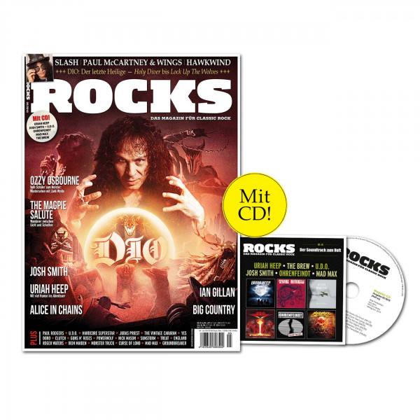 ROCKS Magazin 66 (05/2018) mit CD und Dio