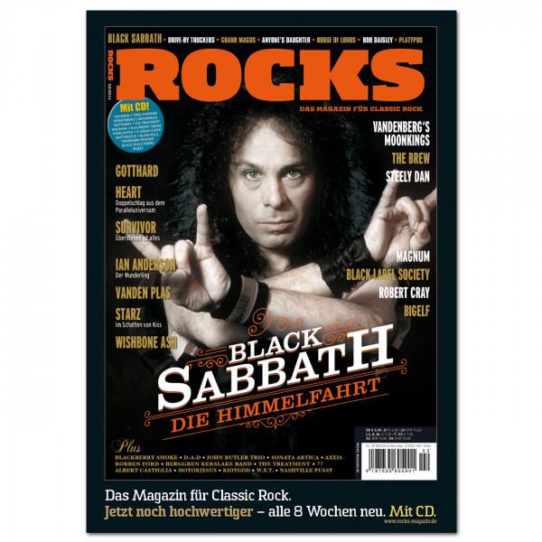 Black Sabbath-Poster in glänzender Bilderdruckqualität