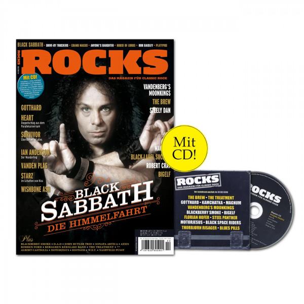 ROCKS Magazin 39 (02/2014) mit CD und Black Sabath!