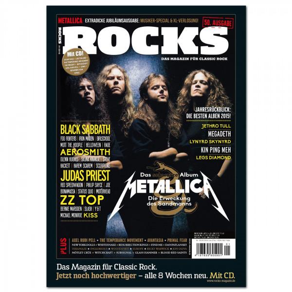 Metallica-Poster in glänzender Bilderdruckqualität