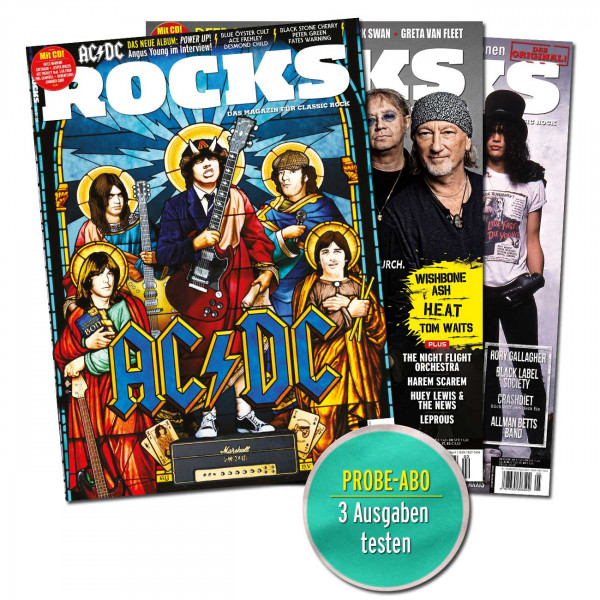 ROCKS im Probe-Abo!