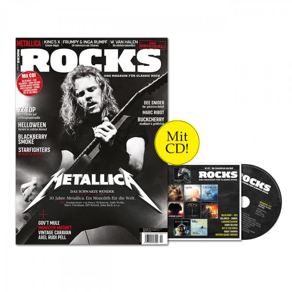 ROCKS Magazin 83 (04/2021) mit CD mit Metallica