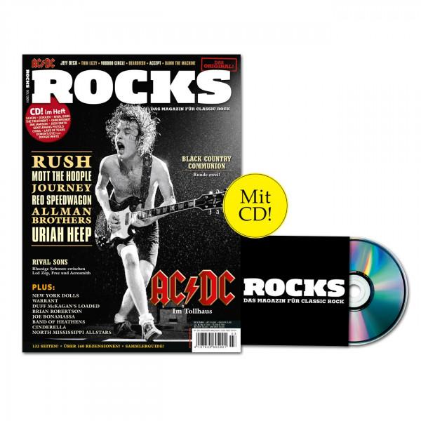 ROCKS Magazin 22 (03/2011) mit CD: Mit AC/DC