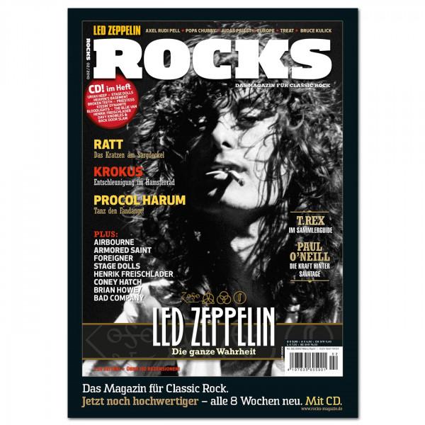 Led Zeppelin-Poster in glänzender Bilderdruckqualität