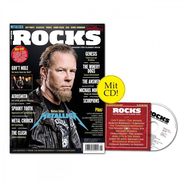 ROCKS Magazin 36 (05/2013) mit CD und Metallica!