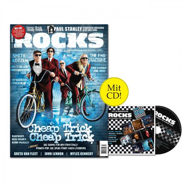 ROCKS Magazin 82 (03/2021) mit CD mit Cheap Trick