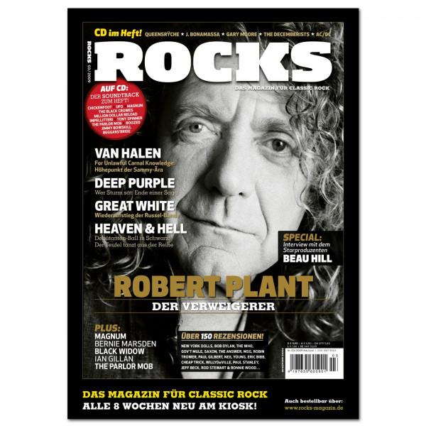 Poster: Robert Plant (DIN A2)