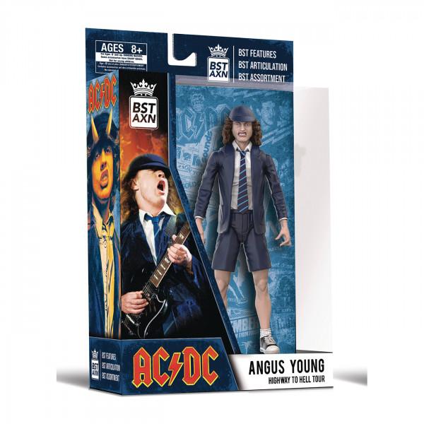 Angs Young von AC/DC als Actionfigur