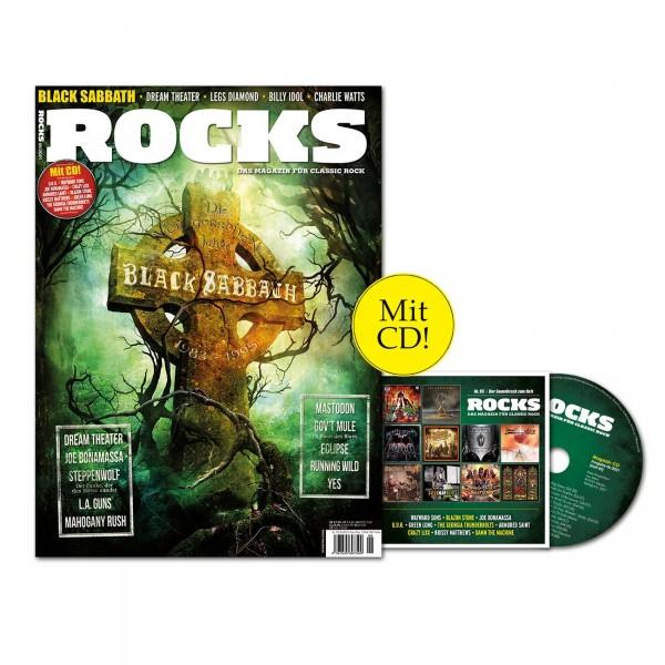 ROCKS Magazin 85 (06/2021) mit Black Sabbath!