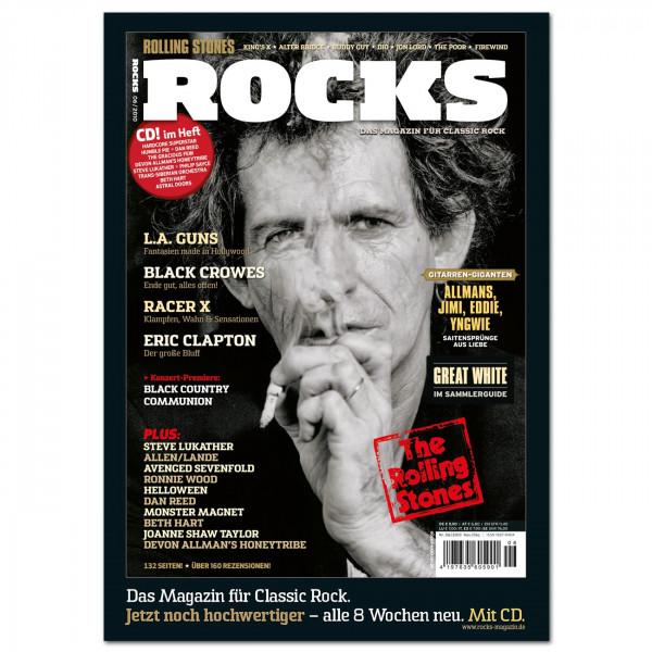 Rolling Stones-Poster in glänzender Bilderdruckqualität