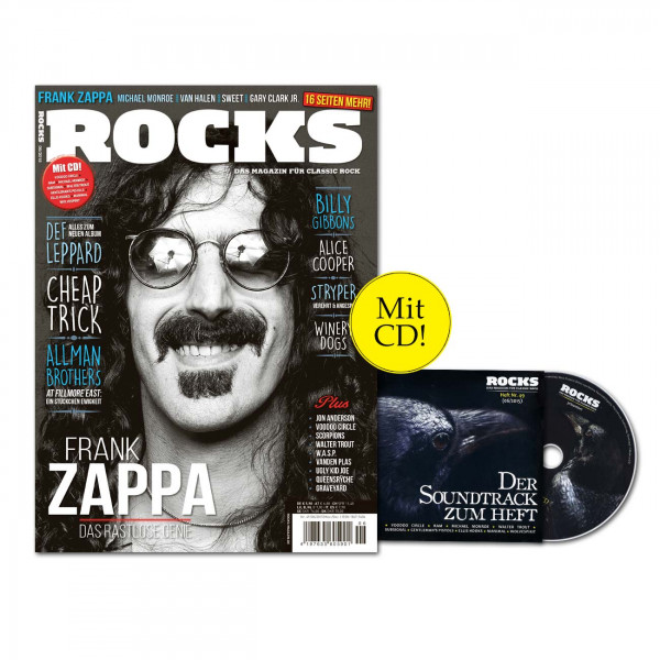 ROCKS Magazin 49 (06/2015) mit CD und Frank Zappa-Special!