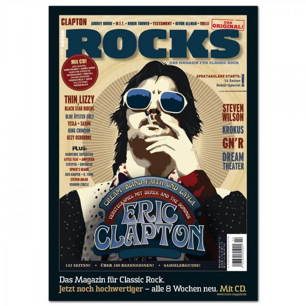 Eric Clapton-Poster in glänzender Bilderdruckqualität