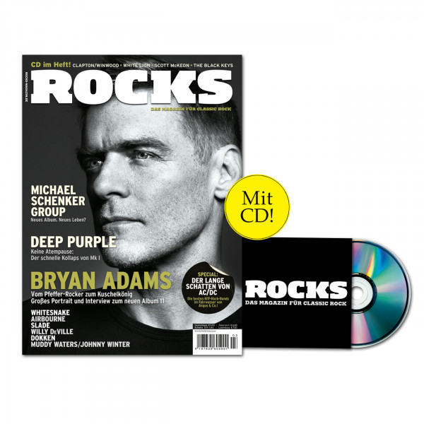 ROCKS Magazin 04 (03/2008) mit CD, mit Michael Schenker Group, Deep Purple, Bryan Adams, Whitesnake, Airbourne, Slade, Willy DeVielle, Dokken, Muddy Waters, Johnny Winter