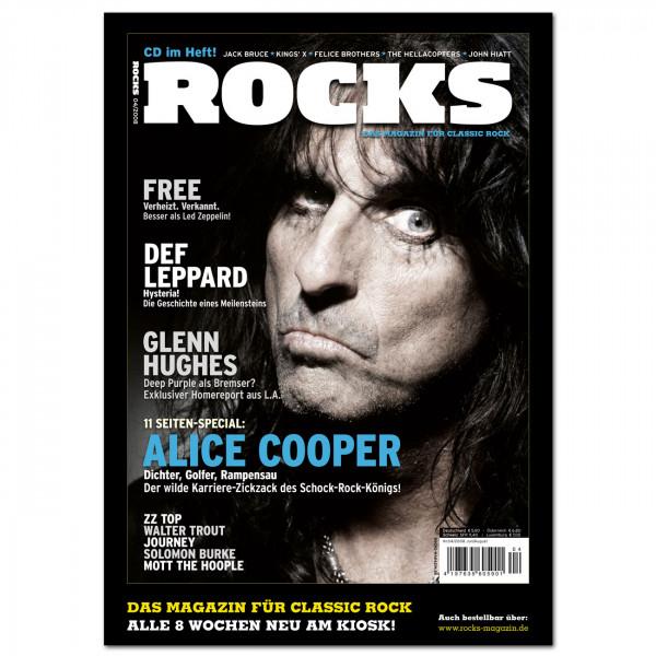 Alice Cooper-Poster in glänzender Bilderdruckqualität