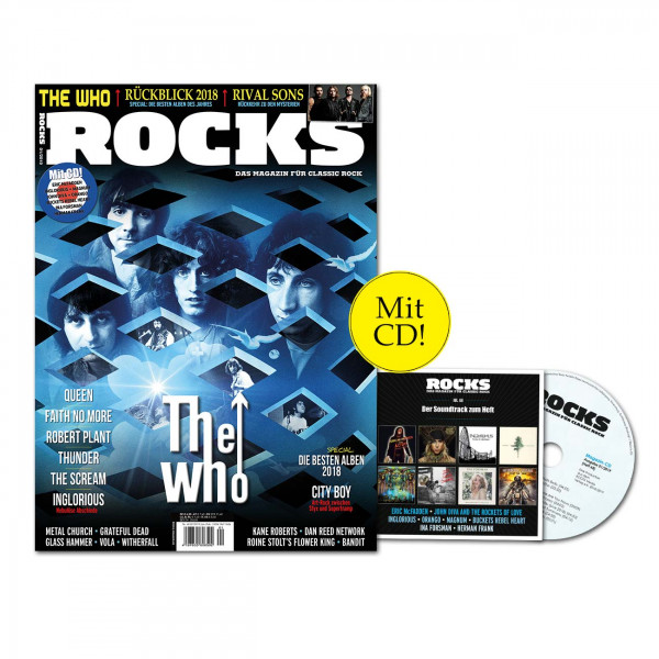 ROCKS Magazin 68 (01/2019) mit CD und The Who