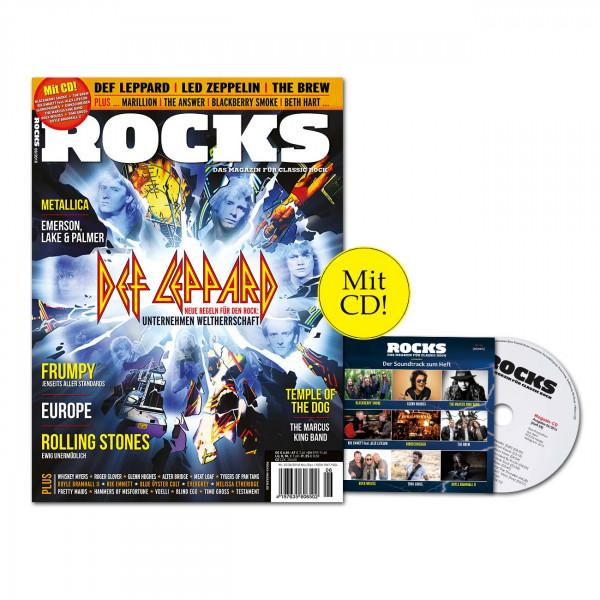 ROCKS Magazin 55 (06/2016) mit CD und Def Leppard!